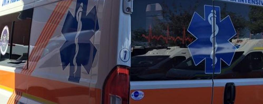 Schianto in auto: grave un 48enne Traffico paralizzato sulla statale 671