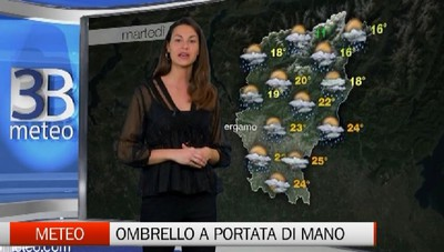 Meteo - Teniamo l'ombrello a portata di mano