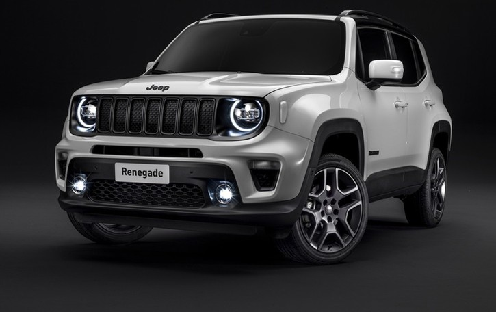 Nuove Jeep La serie S