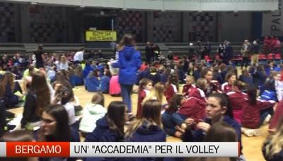Bergamo - Nasce l' Accademia della pallavolo