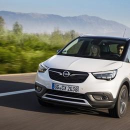 Opel Crossland X Sempre più sicuro