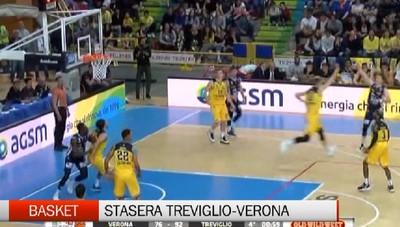 Basket, stasera gara-5 tra Remer Treviglio e Tezenis Verona