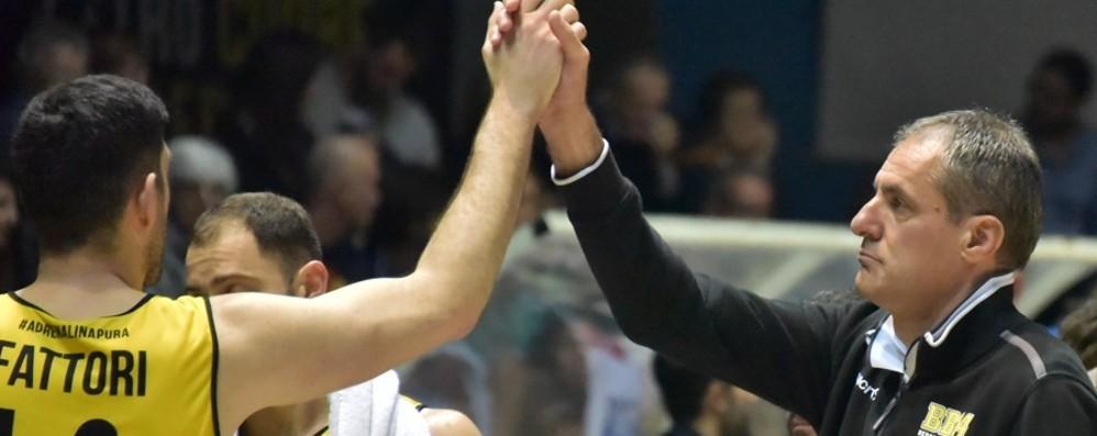 Bergamo Basket, Brescia su Dell'Agnello Ma c'è uno spiraglio per «blindarlo»