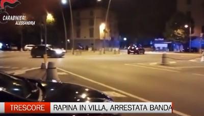 Rapine in villa: arrestata banda di albanesi