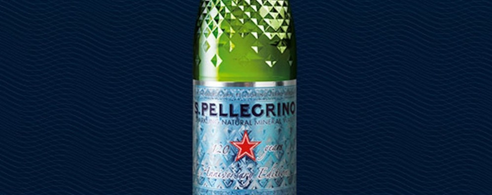 San Pellegrino in festa per i  120 anni C'è anche la bottiglia «Diamante»