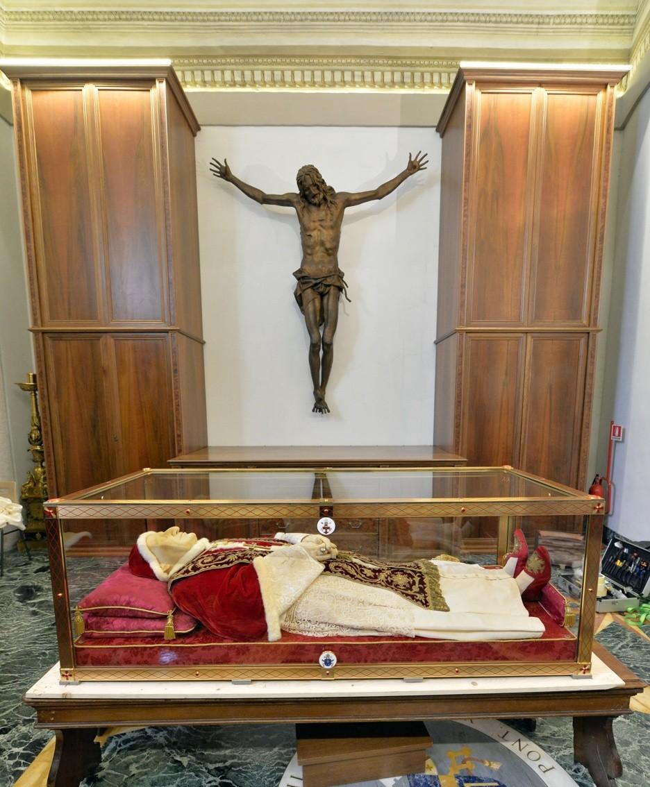 Le spoglie mortali di Papa Giovanni