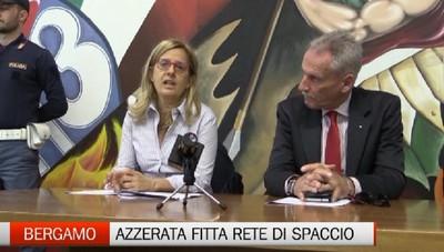 Spaccio a Bergamo, 15 arresti della Squadra Mobile Snowfall