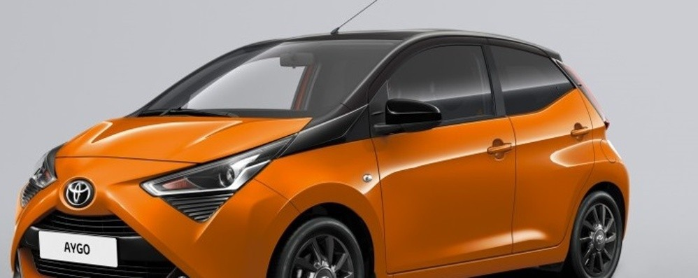 Toyota Aygo versione Connect