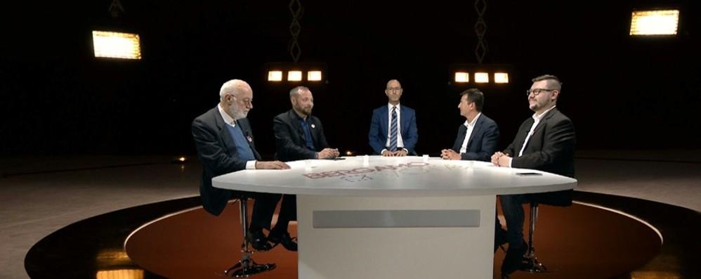 Bergamo, la sfida fra i quattro candidati Ora è tempo di silenzio elettorale