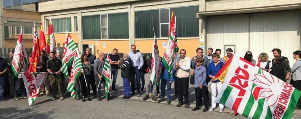 «Elframo», licenziati 4 impiegati I lavoratori entrano in sciopero