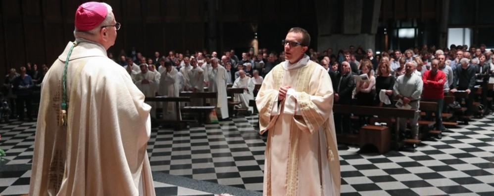 Sabato don Glauco sarà prete Gioia a Stezzano per il sacerdote novello
