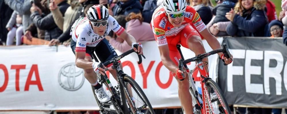 Giro d'Italia, tutto pronto a Lovere Iniziative al via già da sabato sera