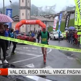 Val del Riso Trail, vince Pasini