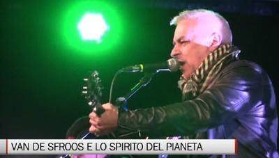 Chiuduno, Van De Sfroos apre Lo Spirito del Pianeta