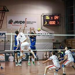 Pallavolo play-off promozione in A3 Scanzo, la vittoria sfugge al tie-break