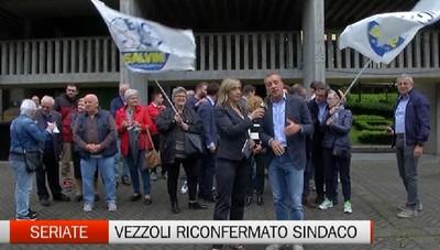 Seriate riconferma il sindaco uscente Vezzoli