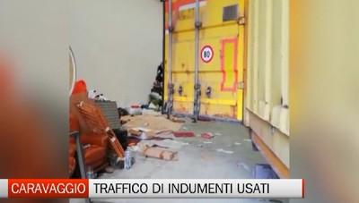 Caravaggio: bloccato traffico di indumenti usati