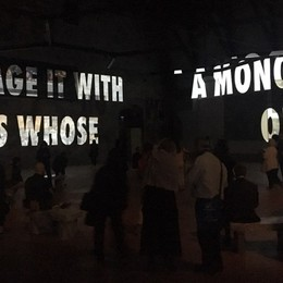 La Gamec inaugura tre nuove mostre In Città Alta «Tutta la verità» della Holzer