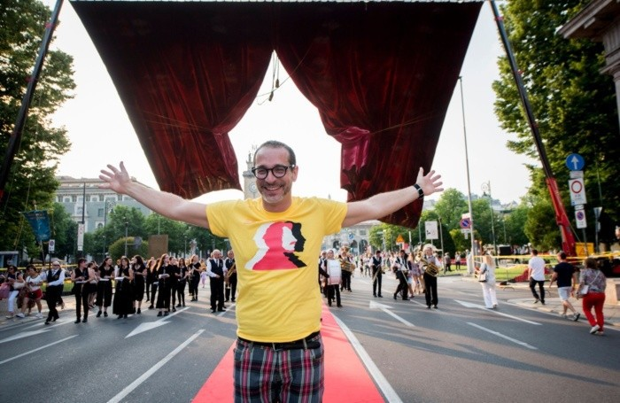 Francesco Micheli, direttore del festival Donizetti Opera