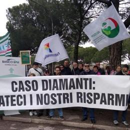 «Diamanti, rimborsi inaccettabili Incontreremo i vertici del Banco Bpm»