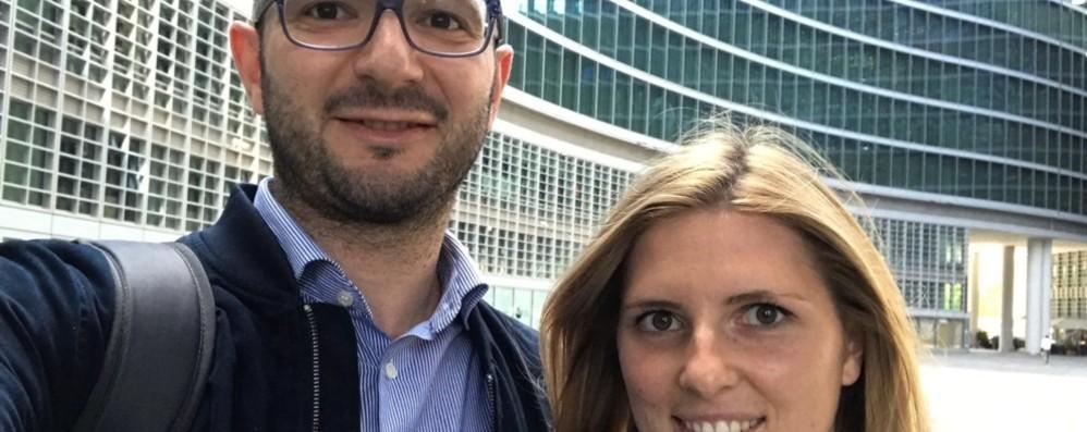 Lei eletta a Roncobello, lui a Cusio Ilaria e Andrea, coppia di sindaci