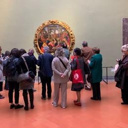 Una bergamasca agli Uffizi di Firenze Le opere rinascono con le narrazioni