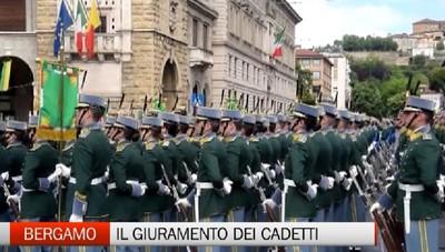 I cadetti giurano e commuovono la città