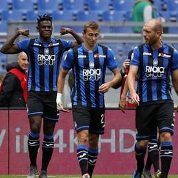 L'Atalanta stende la Lazio (1-3). Ora si «soffre» di vertigini, un solo punto dall'Inter