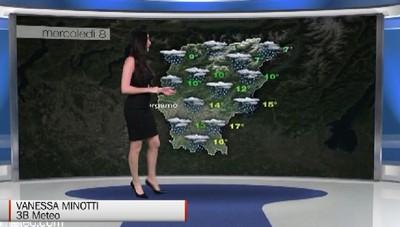Meteo, le previsioni per mercoledì 08 maggio