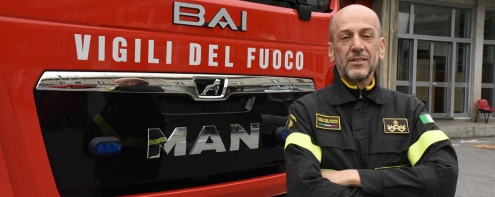 Il nuovo comandante dei vigili del fuoco: «Più digitalizzazione e più dialogo»