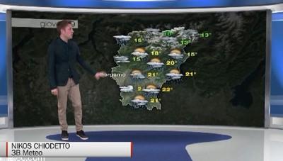 Maggio sui generis con  freddo e  pioggia   Da  giovedì tornerà la primavera