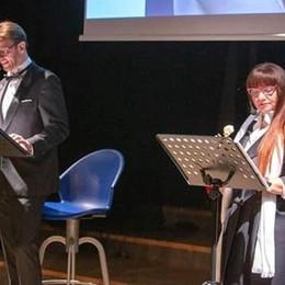 Poetessa trevigliese in teatro a Roma Ornella Mereghetti con «Ti bacio la notte»
