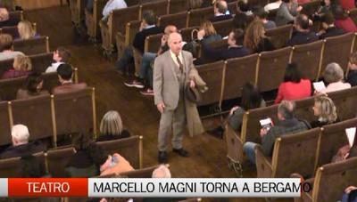 Teatro Sociale, Marcello Magni torna a Bergamo con il suo Marcel