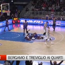 Basket, Bergamo e Treviglio ai quarti dei playoff