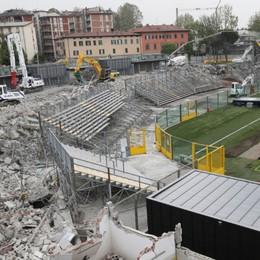 Il video dall'interno dello stadio Ecco i lavori sulla curva Pisani