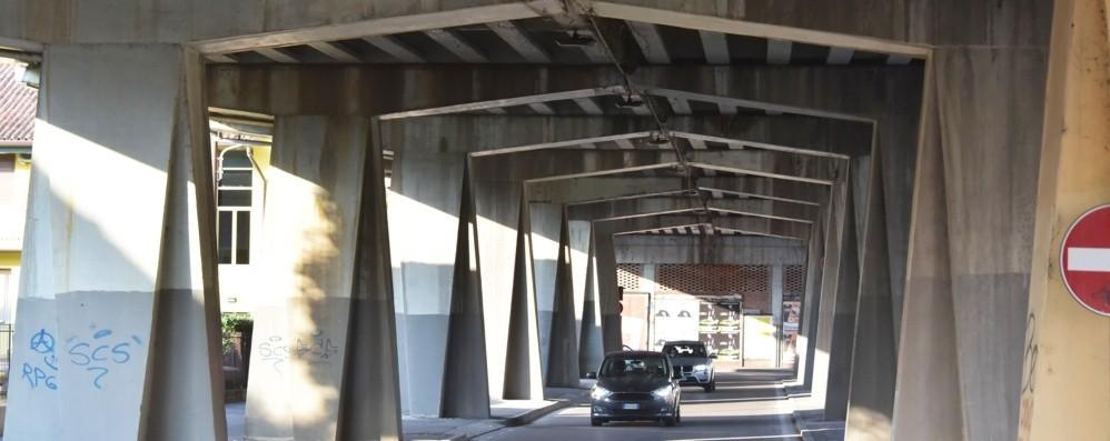 Lavori al viadotto, cambia la viabilità Per ora cantiere solo sotto