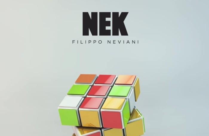la copertina del disco di Nek