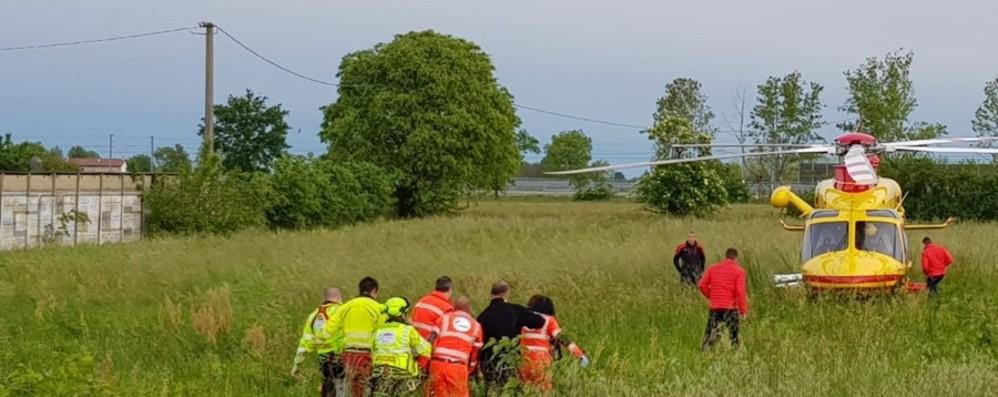 Treviglio: 15enne in bici investito È grave, trasportato al «Niguarda»