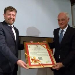 Clusone, cittadinanza onoraria ad Antonio Percassi