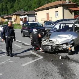 Incidente tra una jeep e due auto Traffico rallentato a Villa d'Ogna