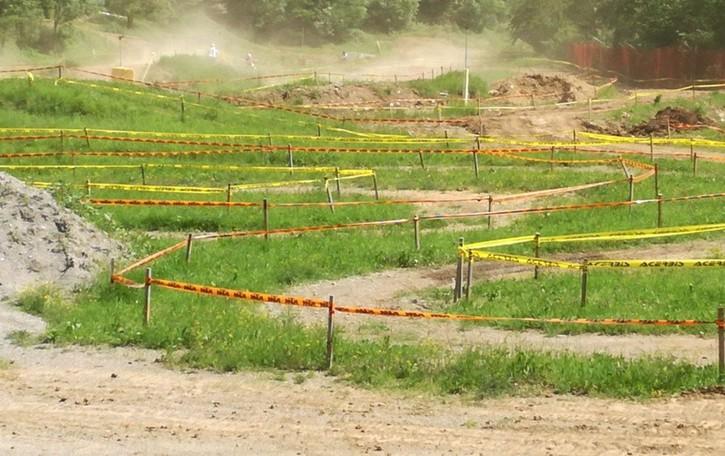 Ponte Nossa, cade sulla pista da enduro Motociclista in prognosi riservata