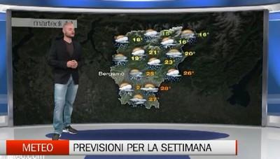 Meteo - Previsioni per la nuova settimana