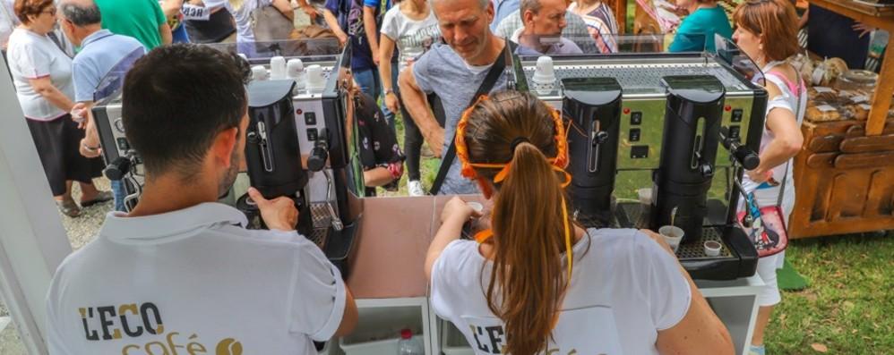 Tappa golosa per L'Eco café Grande festa a Mapello