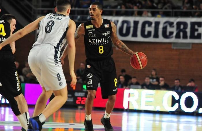 Basket serie A2 maschile 2018/19 Terrence Roderick della Bergamo Basket 2014 contro la Remer Treviglio