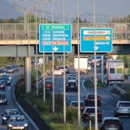 Traffico in autostrada a Capriate Segui le nostre news in tempo reale
