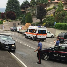Urto tra due auto a Ponteranica Bimbo di un anno finisce in ospedale