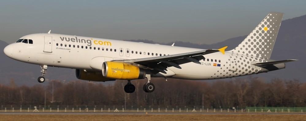 Orio, aumentano i voli per Barcellona Nel periodo tra luglio e ottobre