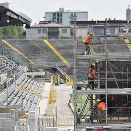 Atalanta, il cantiere stadio corre veloce A Parma le prime due partite  in casa di A