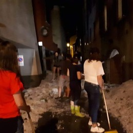 «Sembrava neve» - Foto e video Gazzaniga e Fiorano le più colpite