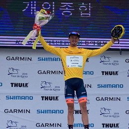 Ciclismo, Zaccanti «sovrano» d'Oriente Gioia incontenibile, è suo il Tour de Korea